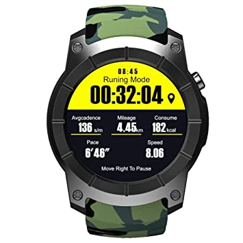 OOLIFENG GPS Reloj Inteligente Pulsómetros Tarjeta SIM ...