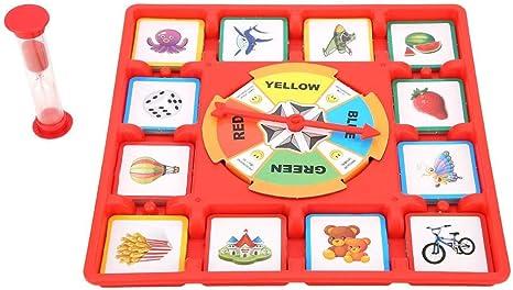 Alomejor Mesa de multijugador Juegos de rol Juego de Cartas Tornamesas Juego de Memoria Juego de Mesa Competición Juguete: Amazon.es: Deportes y aire libre