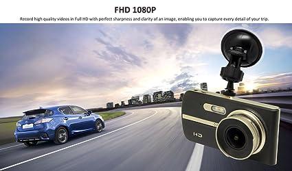 Cam 4 U >> Dual Dash Cam 4 Screen Wide Angle Lens Full 1080p Front And Back Car Dashboard Camera Parking Guard High Spec Processor Dvr Enhanced Night Vision