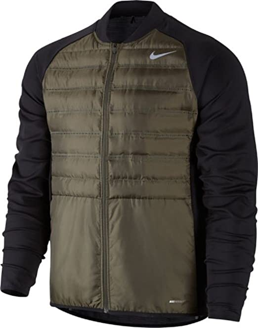 Nike Jacke rot schwarz Gr. Kinder XL Herren M