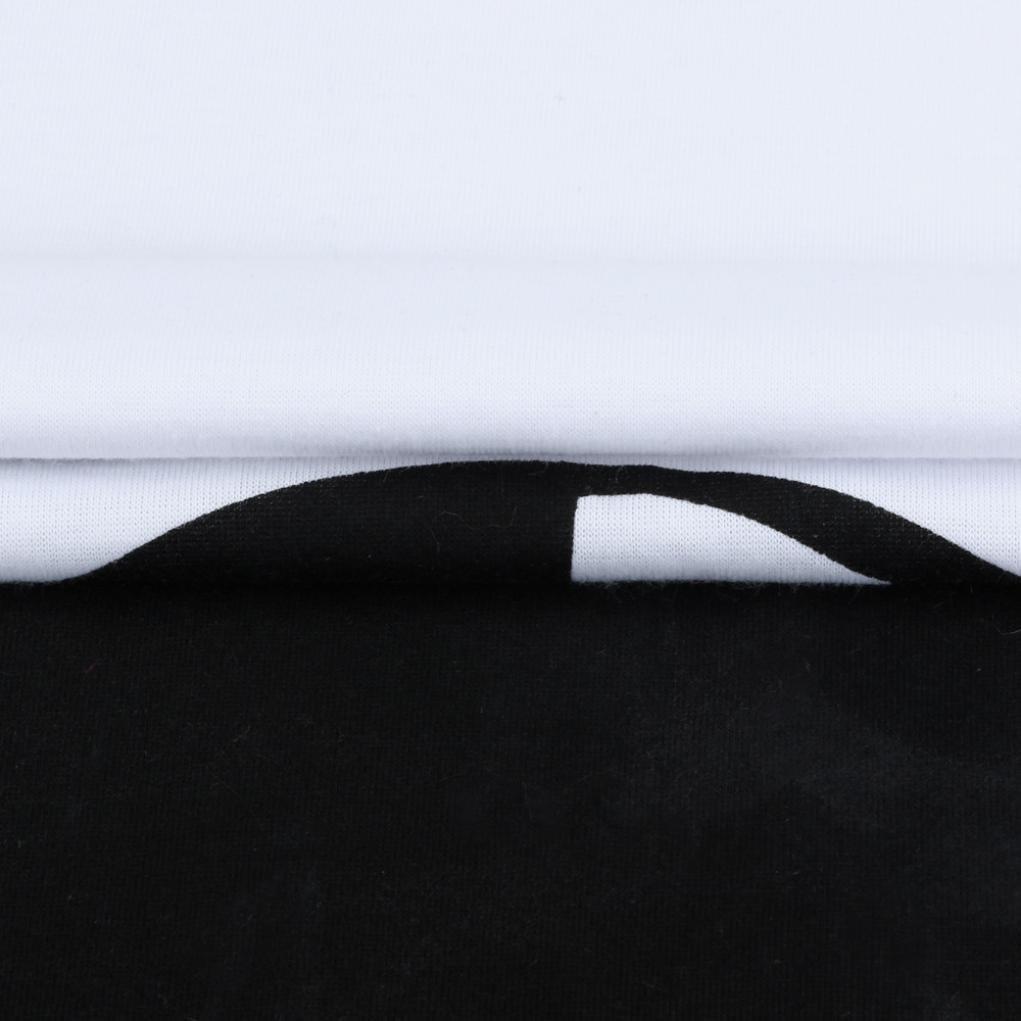 ZEZKT Panda Motiv Umstandsmode Schwangerschaftsshirt Karikatur Stretch T-Shirt Lustige Schwangerschaft Tops Oberteil f/ür Schwangere Kurzarm Rundhals Top Stilvoll Beil/äufige