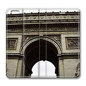Brain114 6 Plus, iPhone 6 Plus Case, iPhone 6 Plus 5.5 Case, Paris 3 PU Leather Flip Protective Skin Case for Apple iPhone 6 Plus 5.5
