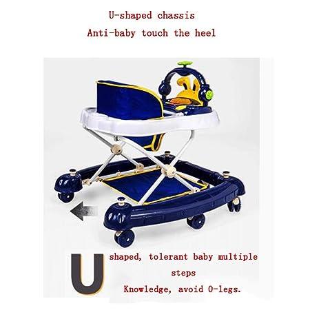 YUMEIGE Andadores Andador para Bebés con toldo Andadores ...