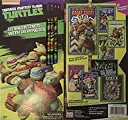 Teenage Mutant Ninja Turtle Valentines with Pencils ~ 16 count ~ 1 box