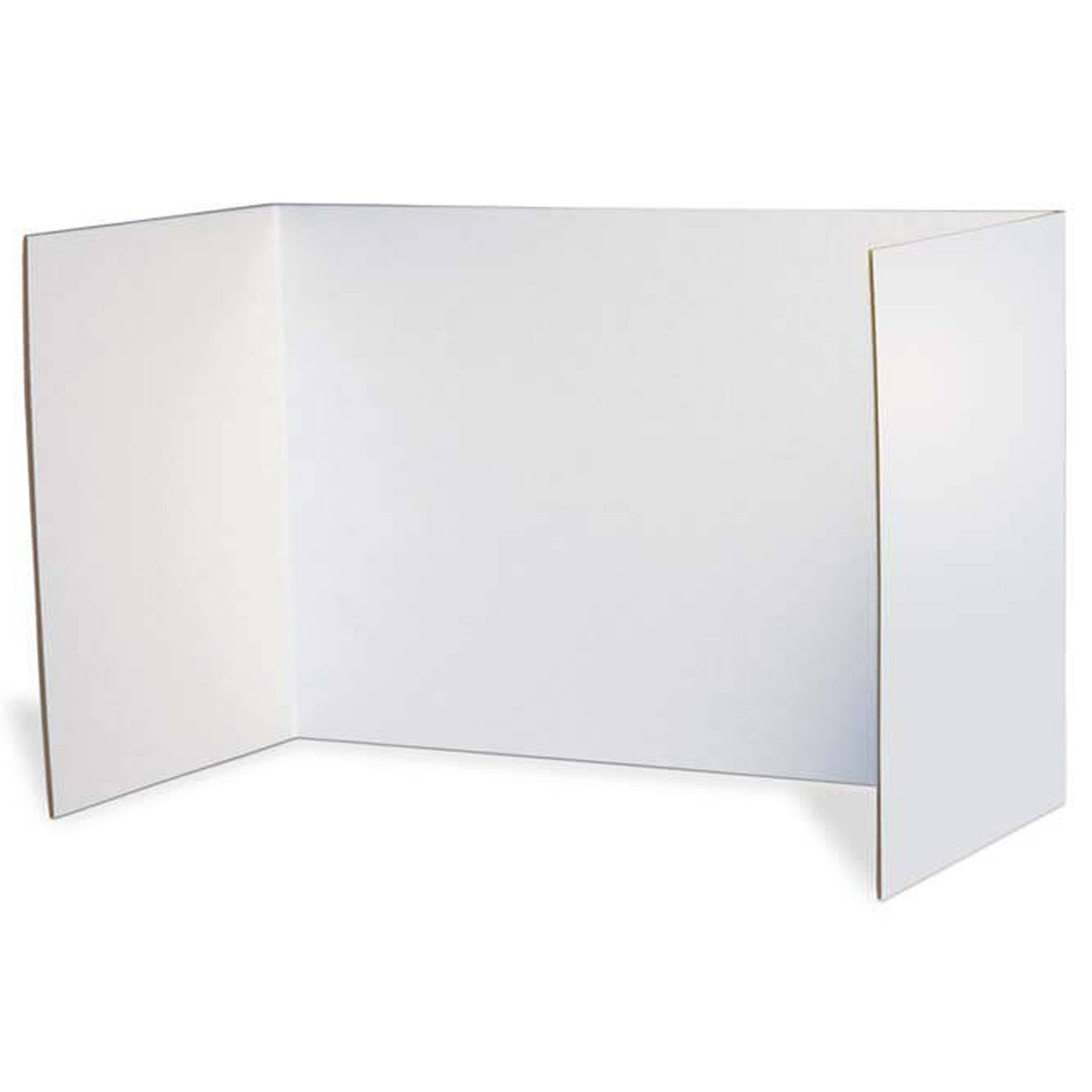 Pacon PAC3782BN Privacy Boards, White, 48'' x 16'', 4 Per Pack, 2 Packs