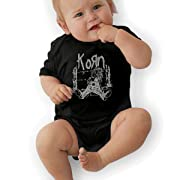 LarryGThatcher Baby Korn Short Sleeve Cotton Infantile Suit 0-3M Black
