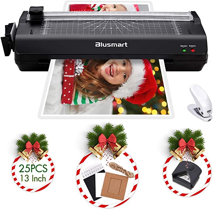 """A3 Hot /& Cold Pouch Film Laminator 13/"""" Steel Thermal Laminating Machine Home"""