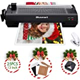 13 inches Laminator, Blusmart Multiple Function A3 Laminator with 25 Laminating Pouches, Paper Cutter, Corner Rounder Laminat