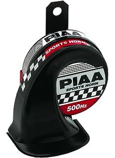 amazon com piaa 85114 slim line 400hz 500hz 112db sports horn piaa 85110 115db 400hz 500hz sports horn