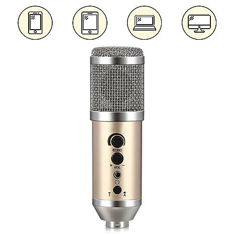 38b1e08059be2 IDMAX Micrófono de condensador de PC teléfono
