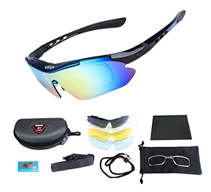 5a3675f53c Amazon.com  SAMPACT Polarized Sports Sunglasses