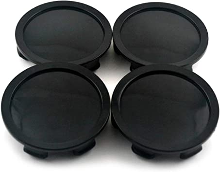 Wheel Center Caps for OZ Black M608 M242  Racing Wheel Rim Set of 4 75mm 70mm