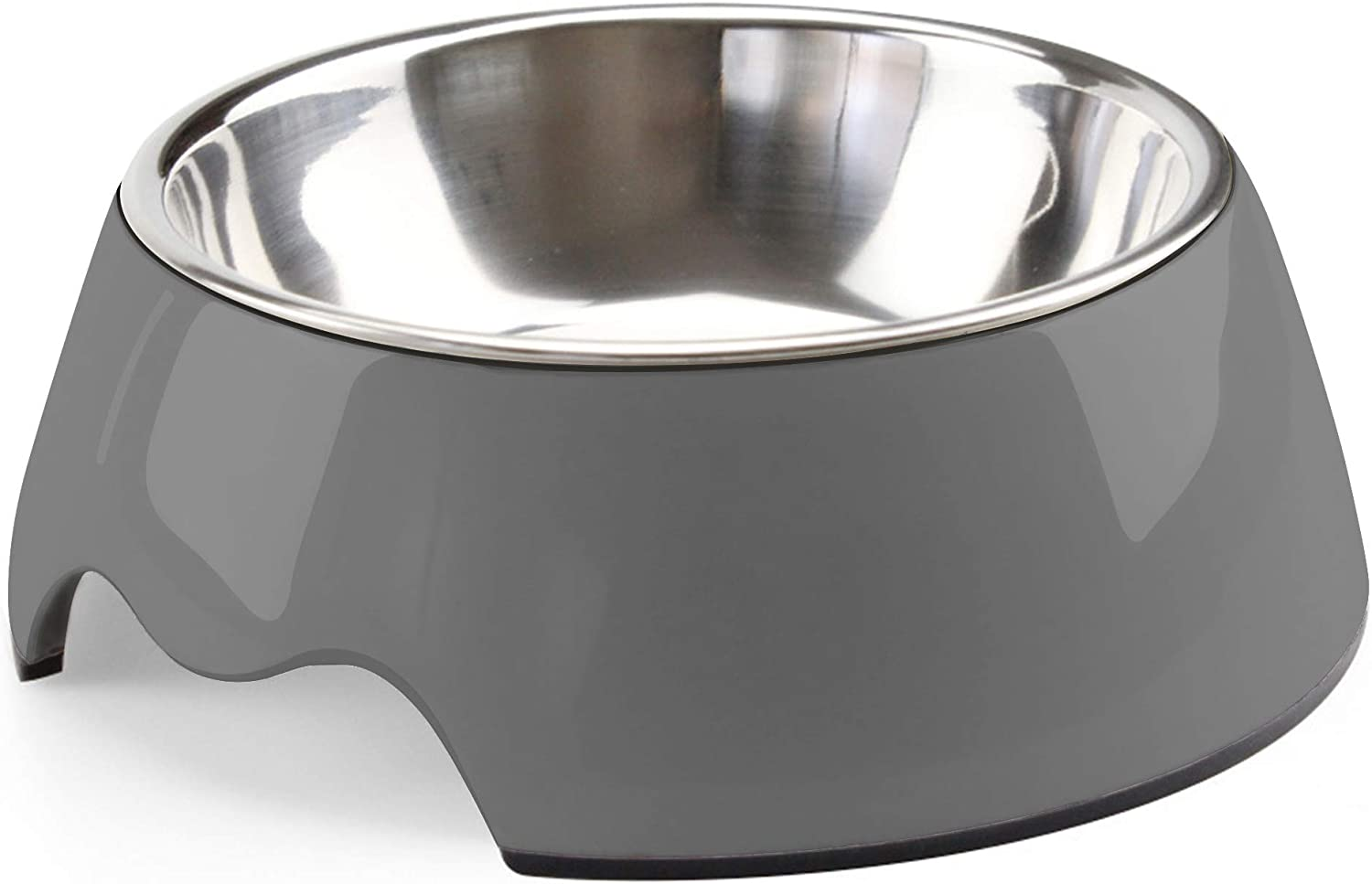 choemore Dog Bowl Stainless Steel Dog Food Bowl Anti-Slip Cat Dish with Removable Dog Water Bowl
