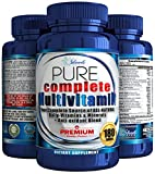 Daily Multivitamin For Men amp Women Antioxidant The Best Complete Multivitamins amp Minerals All Natural Supplements Vitamins A B Complex C Vitamin D3 2000 IU E Biotin 6 Month Supply Discount