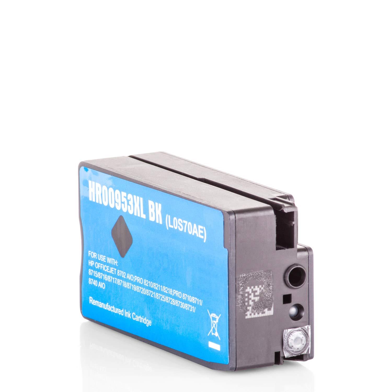 HQ-Basic REC-L0S70AE Tintenpatrone Schwarz ersetzt HP L0S70AE ...