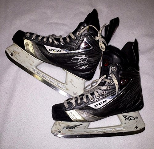 Stefan Noesen Signed Game Used Ccm U Skates Plymouth Whalers New Jersey Devils - Game Used NHL Skates