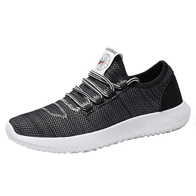 23a418fa267 Amazon.com  Caopixx Men s Running Shoes Fashion Breathable Sneakers ...