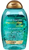 OGX Intensely Invigorating Eucalyptus Mint Shampoo 13 Fl Oz (Pack of 2)