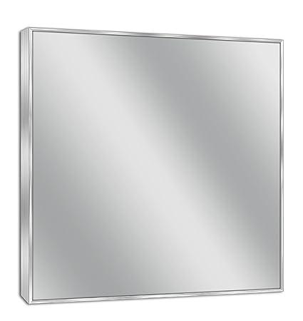 30 x 36 mirror frameless head west 30 36 spectrum brush nickel mirror 30x36quot amazoncom 30x36