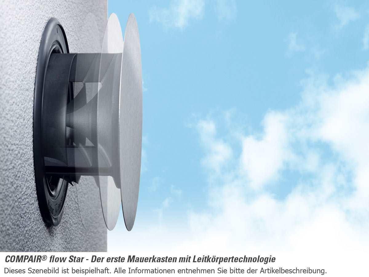 NABER COMPAIR® Flow Star GTS 150 Mauerkasten Ø150 mm ...