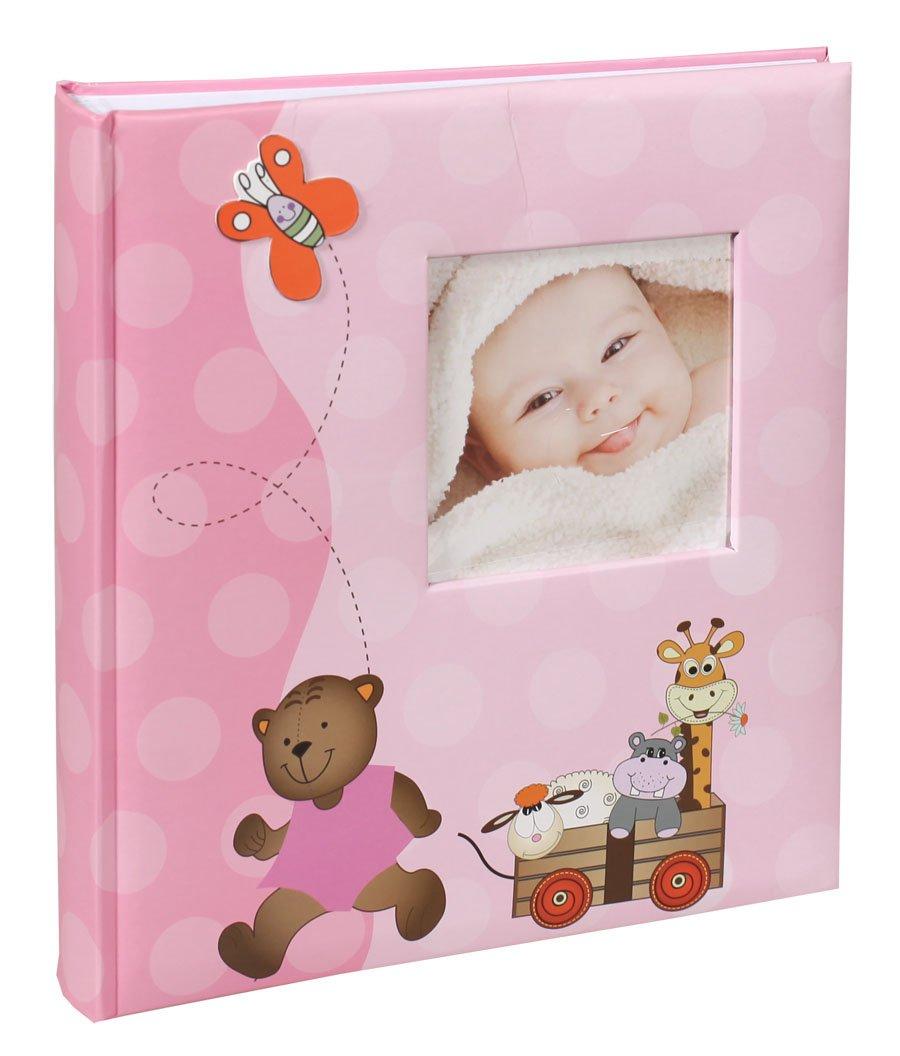 My Sunshine Fotoalbum in 29x32 cm 60 weiße Seiten Kinder Baby Foto Album: Farbe: Rosa KPH