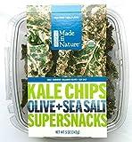 Organic Kale Chips Supersnacks, Olive & Sea Salt Flavor, 5-Ounce