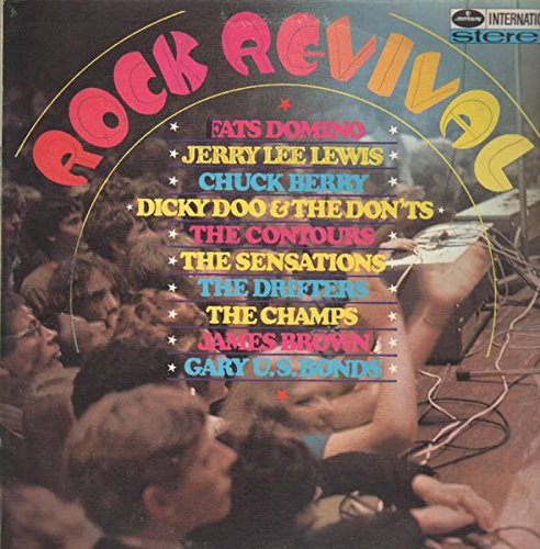 Jerry Lee's Rock & Roll Revival Show / Let's Put it Back Together Again - 45 rpm Record