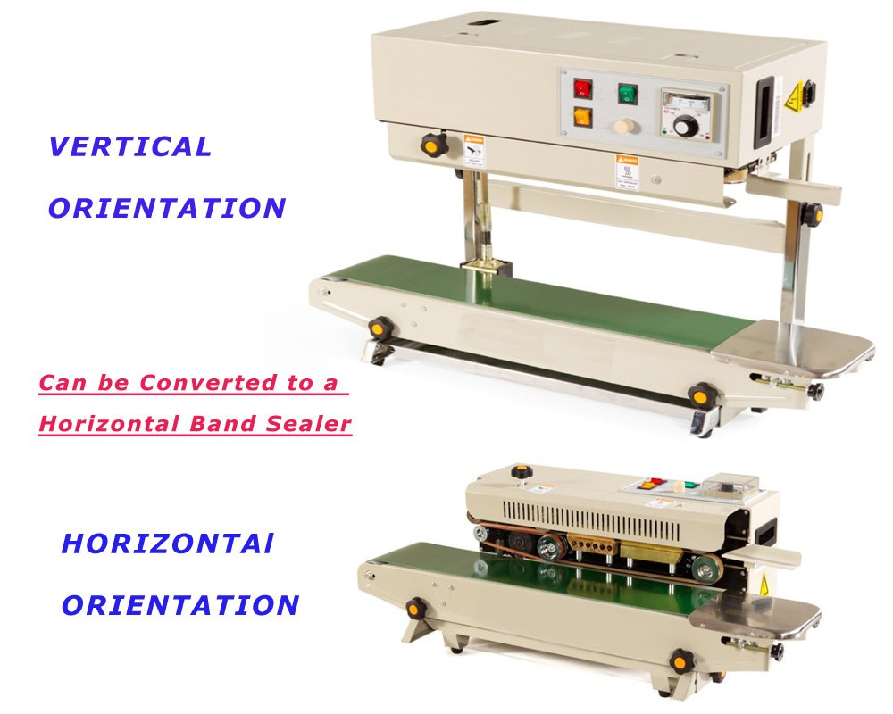 New FR-900 Auto Continuous Band Horizontal Bag Sealer (Horizontal Frame mode)