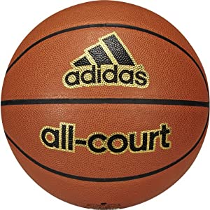 adidas Performance All-Court Basketball, Natural/Black, Size 6