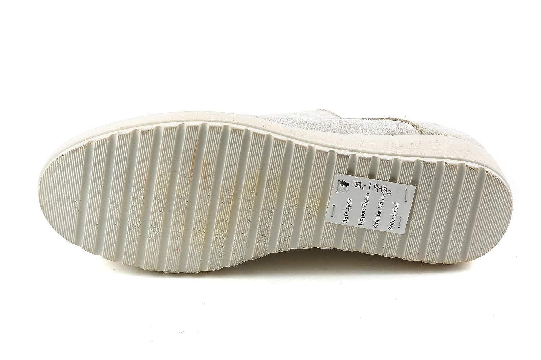 Felmini FM1-086, Scarpe Stringate - Donna Bianco Bianco - Stringate b45255