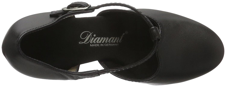 Diamant Damen Tanzschuhe 053-006-034 Standard Standard 053-006-034 & Latein Schwarz (Schwarz) 0534c3