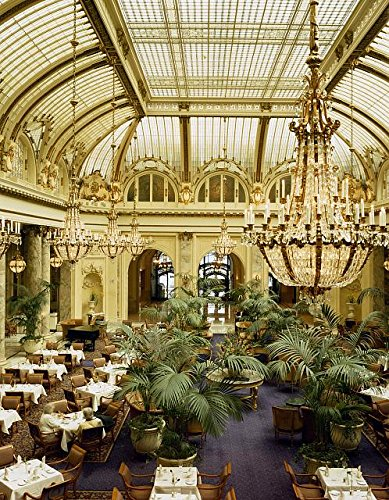 HistoricalFindings Photo: Garden Court Dining Room,Sheraton Palace Hotel,San Francisco,California,CA