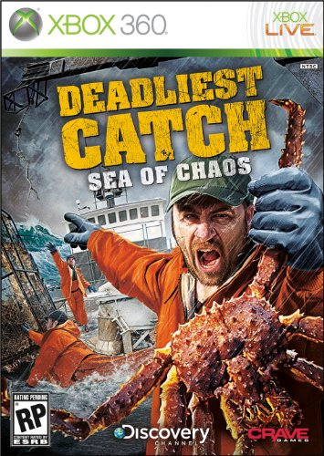 Deadliest Catch: Sea of Chaos - Xbox 360 (Xbox 360 Fishing Games)
