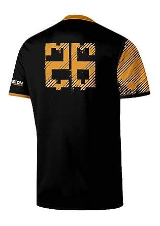 Ghost Recon - Wildlands Esports 26 - Camiseta Oficial Hombre - Negro, M: Amazon.es: Ropa y accesorios