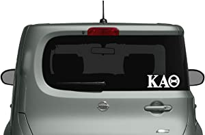 Kappa Alpha Theta - Car, Truck Laptop Decal Sticker (2 Pack)