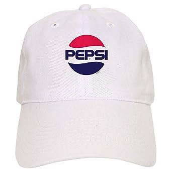 Amazon.com  CafePress - Pepsi Vintage Logo - Baseball Cap with Adjustable  Closure fde11356b42e