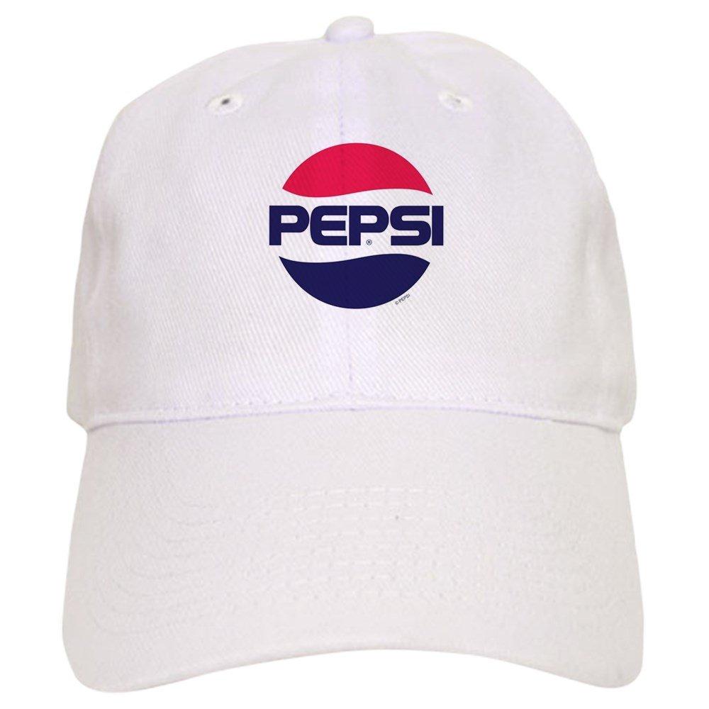 70ad369e0aa3e Amazon.com  CafePress - Pepsi Vintage Logo - Baseball Cap with Adjustable  Closure