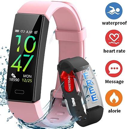 comprar HOFIT Pulsera Actividad Reloj Inteligente Fitness Tracker Podómetro Monitor de Sueño Contador de Calorías Pasos Rastreador de Ejercicios Reloj Salud Pulsera Deportiva para Niños Mujeres Hombres