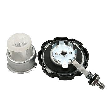 Shioshen Tanque de combustible Gas tapa conjunto filtro establecido para GX120 HONDA GX160 GX200 GX240 GX270 GX340 GX390 5.5HP 6.5HP 11HP generador del ...