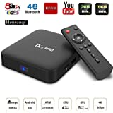 Henscoqi TX5 Pro Smart TV Box Amlogic S905X Android 6.0 Marshmallow TV Box 2G/16G Smart Set Top Box Support 4K Dual Band Wifi Miracast Bluetooth