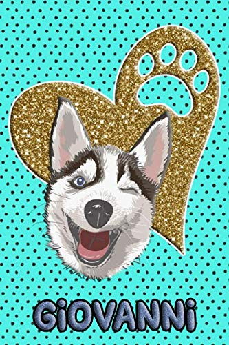 Husky Life Giovanni: College Ruled   Composition Book   Diary   Lined Journal   ()