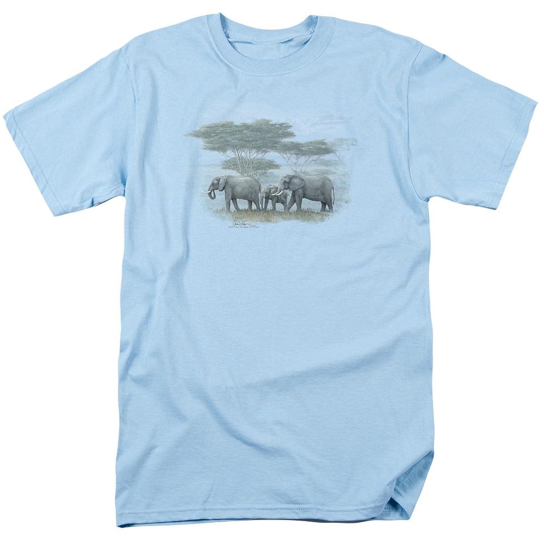 Wildlife Wild Animaks Nature Elephants: Heart of Africa Adult T-Shirt