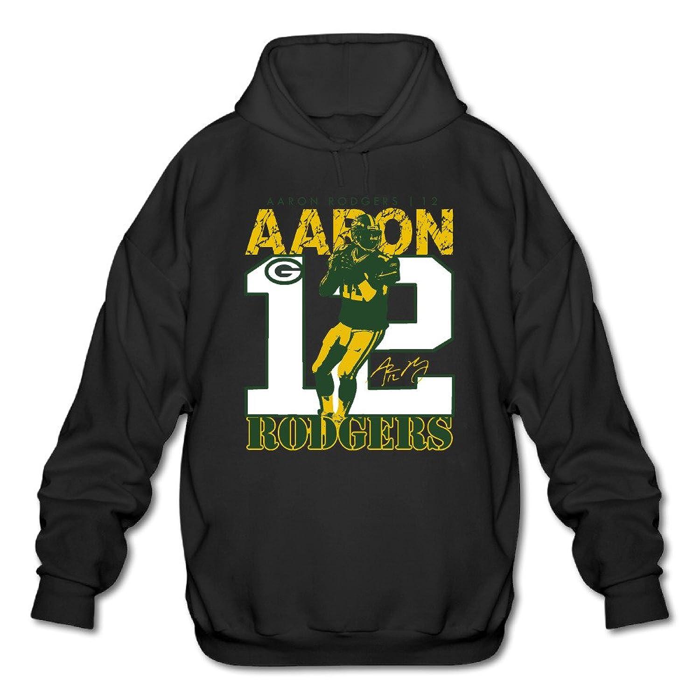 cheap for discount 2665a 31ec0 Hotboy19 Men's Long Sleeve Sweatshirt Green Bay #12 Football ...