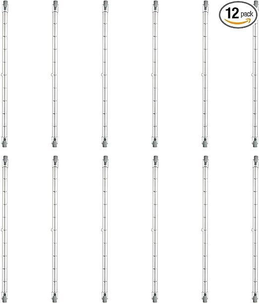 Cbconcept 10XG8120V50WF Frosted G8 JCD Halogen Light Bulb 10 Bulbs 120-volt 50-watt
