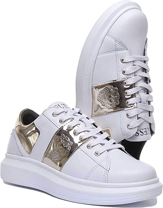 Guess Scarpa Uomo MOD. FM7OPLEA12 White 44: Amazon.it