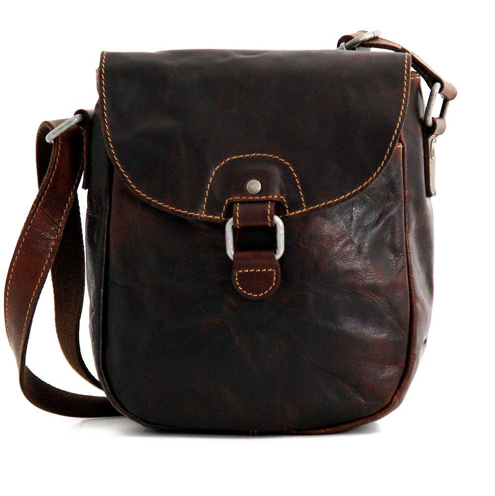 Jack Georges Voyager Horseshoe Crossbody Bag, Leather Shoulder Bag in Brown by Jack Georges (Image #1)