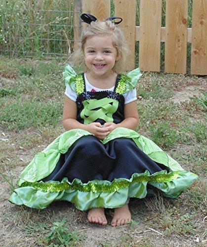 Girls 3-4 Black and Green dress up (Good Group Fancy Dress)