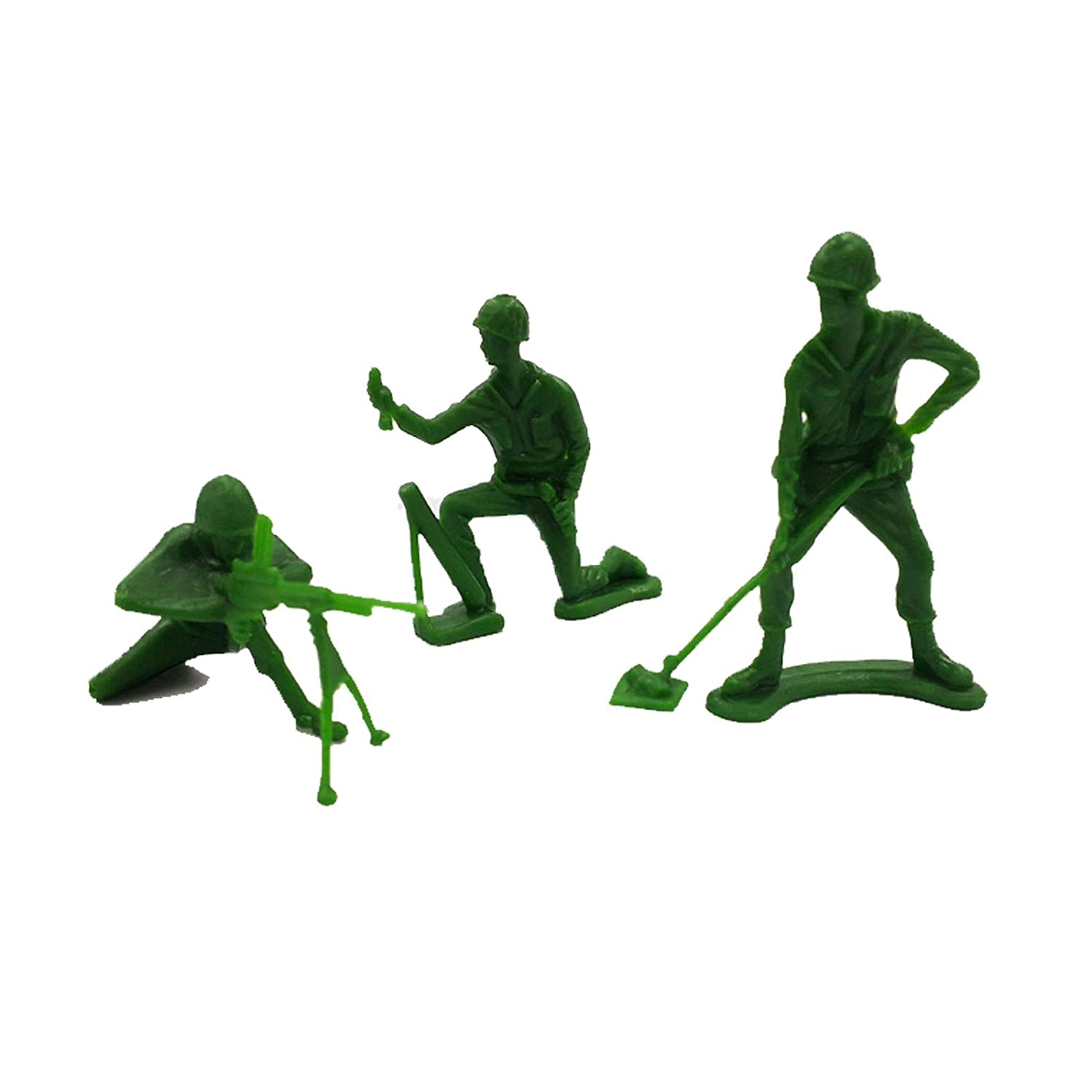 Wowow Toys Jumbo Army Toy Soldiers Figures 200 Pack For Boys /& Girls