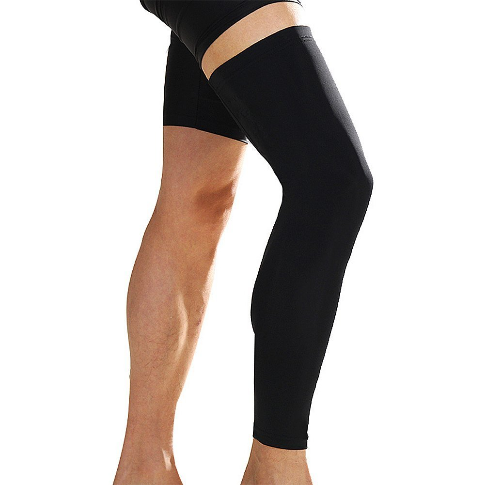 6e1e87b852 Amazon.com : Senston 1 Pair Compression Long Knee Sleeves Basketball Knee  support - For Youth & Men & Women - Best Knee Protect for Basketball,  Football, ...