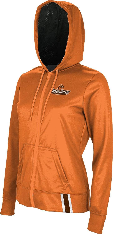 ProSphere Bowling Green State University Womens Zipper Hoodie School Spirit Sweatshirt Solid